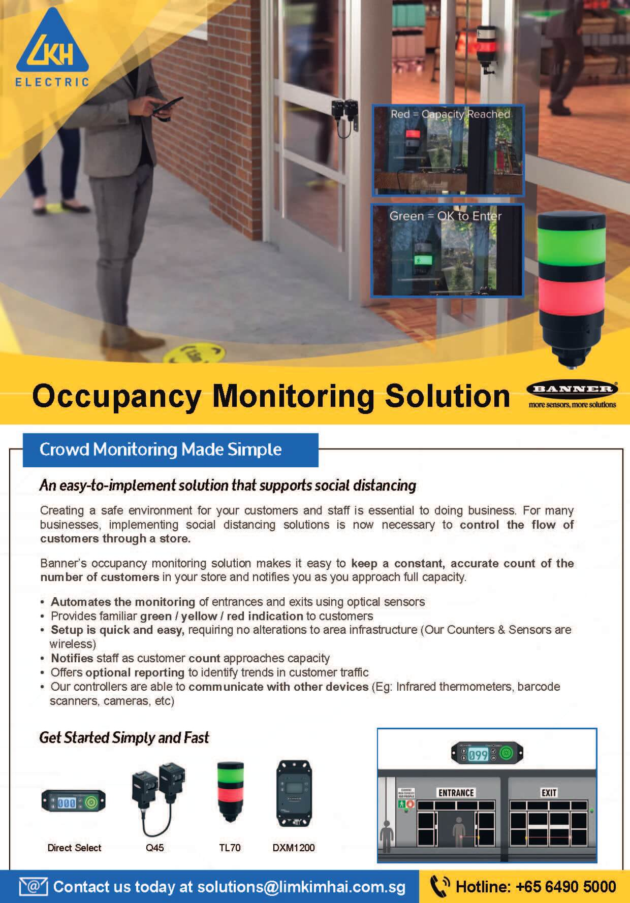 Occupancy Monitoring Solution Brochure