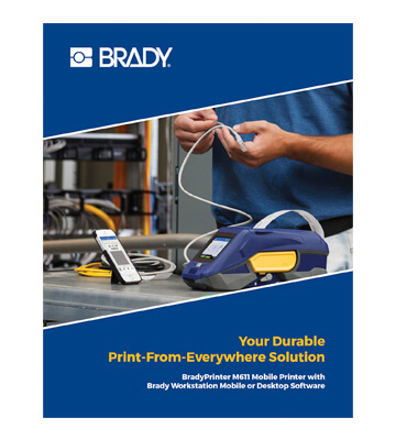 Brady M611 Catalogue