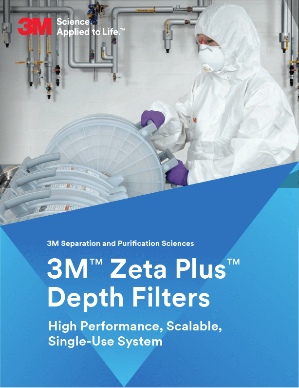 3M Zeta Plus Depth Filter Brochure